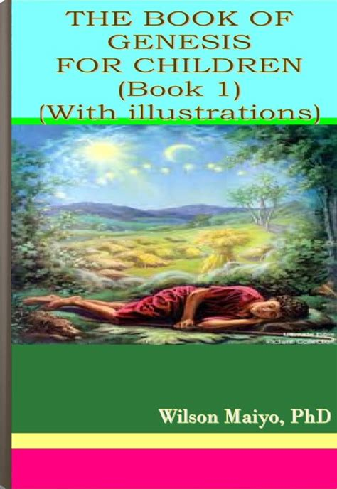 my book of genesis books the book of genesis for children book 1