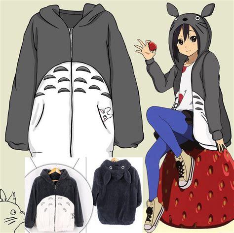 design jacket anime men women anime my neighbor totoro hoodie coat cosplay