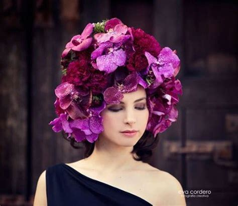 Flower Hat the 10 most original hats with flowers bloomifique