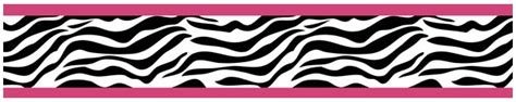 zebra print wallpaper border for bedrooms zebra pink wallpaper border