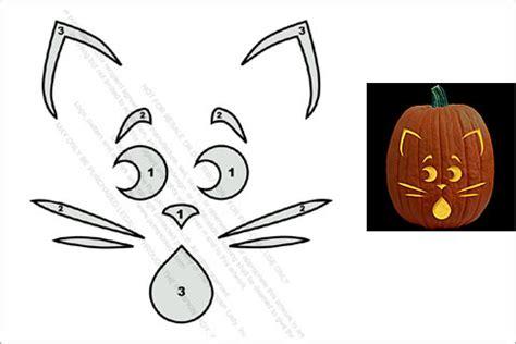 21 frightful cat pumpkin stencils for an eerie halloween