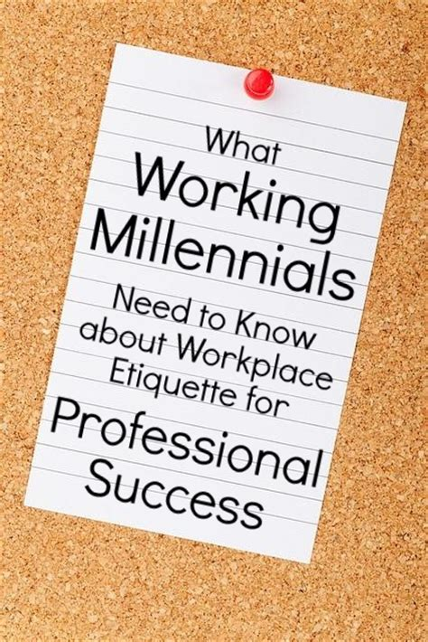 Resume Tips For Millennials by Millennials In The Workplace 5 Etiquette Tips For Success