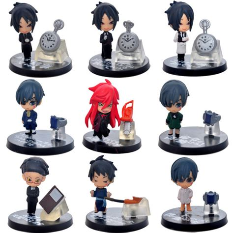 High Quality Import Japan Style Black kuroshitsuji sebastian figure promotion shop for