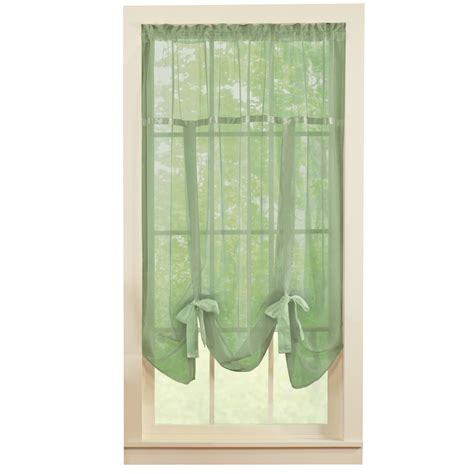 curtains etc sheer tie up shade curtain by collections etc ebay