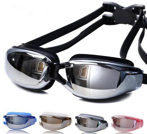 Kacamata Renang Anak Anak Anti Fog Dan Topi Renang kacamata renang profesional anti fog uv protection black