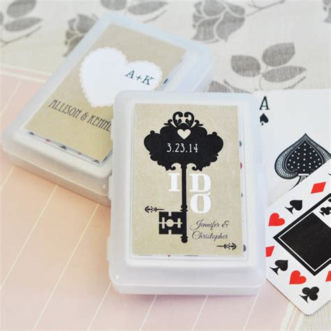 Personalized Gifts Playing Cards - vintage wedding personalized playing cards
