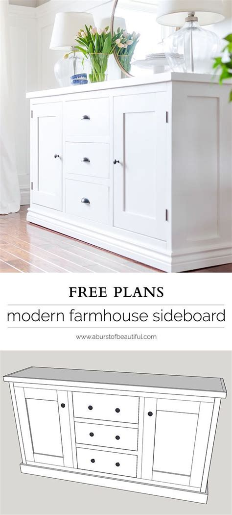 Diy Dining Room Hutch Plans 17 Best Ideas About Sideboard Decor On Buffet