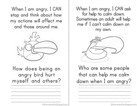 angry birds anger management worksheets 17 best images about angry birds on pinterest free