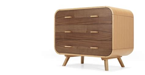 Chest Of Drawers Made Fonteyn Chest Of Drawers In Oak And Walnut Made