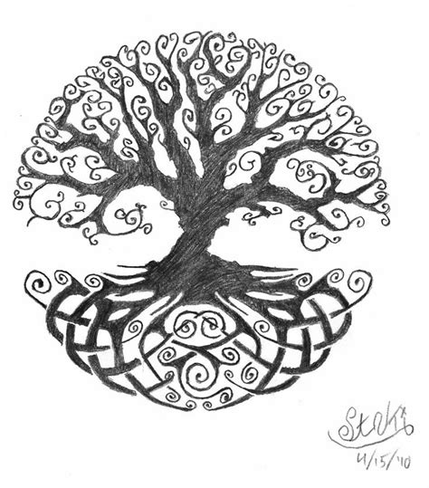 48 Celtic Tree Of Life Tattoos Ideas Celtic Tree Tattoos Designs 3