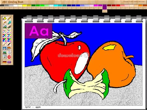 sarasoft coloring book free abc coloring book i 2 01 0242 review free trial