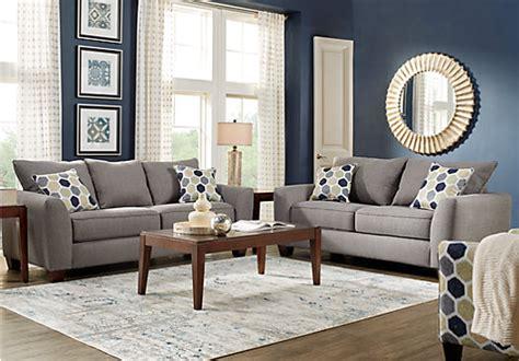 rooms to go white sofa bonita springs 7 pc gray living room living room sets gray