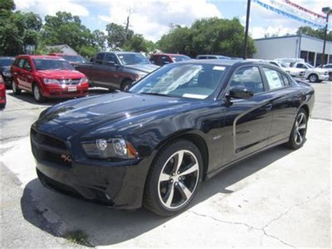 purchase new brand new sleek black 2013 dodge charger r t