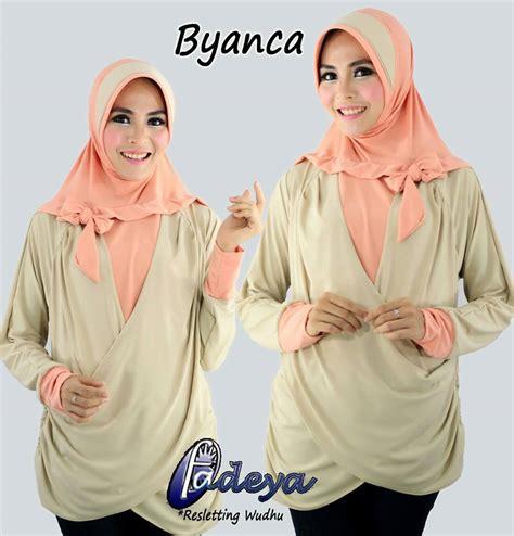 Supplier Ivory Tunik By Hijabmorfosa jual byanca tunik by fadeya toko jilbab branded