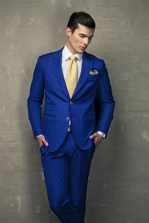 wearing a royal blue suit for wedding my wedding ideas 1001 id 233 es pour porter le costume bleu roi comment se