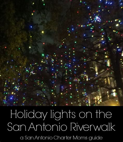 gallery holiday lights and landmarks on the san antonio