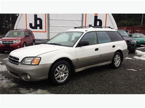 subaru awd wagon 2001 subaru outback wagon awd outside cowichan valley