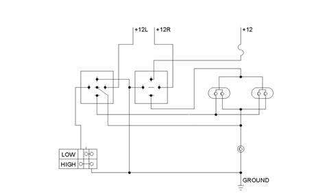 diy headlight wiring harness upgrade low 201388 headlight