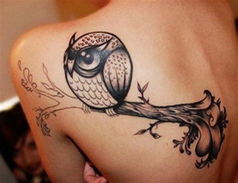 owl back tattoo owl on back www imgkid the image kid has it