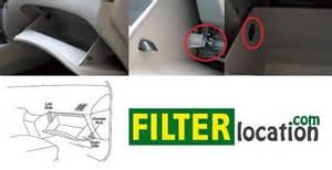 2009 Hyundai Sonata Cabin Air Filter Locate Hyundai Santa Fe Cabin Air Filter