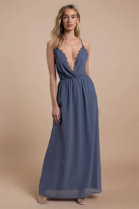 pink maxi dress plunging dress wedding guest dress 46 tobi us