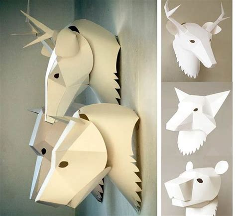 low poly papercraft and 3d on pinterest