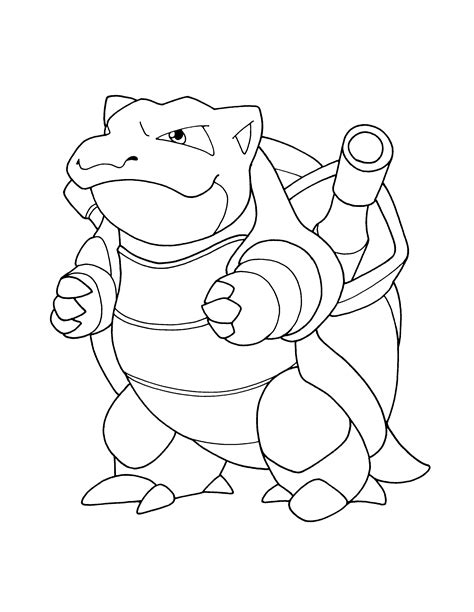 pokemon coloring pages of blastoise download pokemon coloring pages blastoise
