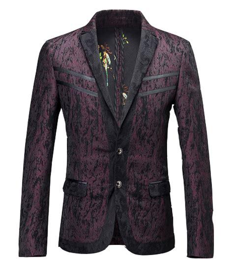 Blazer Lace Maroon grunge burgundy black lace lapel stunning creative blazer