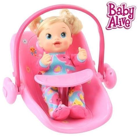 baby doll car seat carrier baby alive doll deluxe 2 in 1 carrier car seat gift to