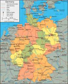 Germany On The Map by Maps Map Germany