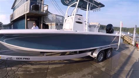 bay boat for sale no motor sea pro 248 bay boat for sale hickory bluff