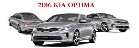 Kia Optima Trim Levels 2016 Kia Optima Trims And Features