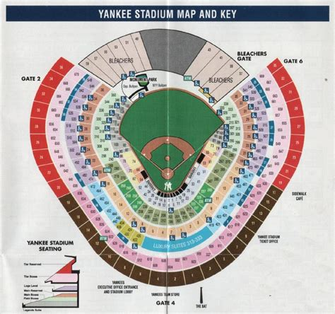 yankee stadium section map new york yankees vs chicago white sox tier reserved