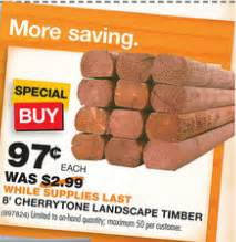 home depot landscape timbers safeway coupons 2017 2018 best cars reviews