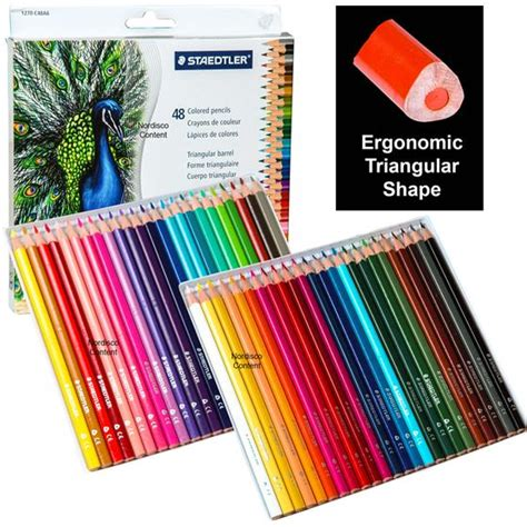 staedtler colored pencils staedtler 1270c48a6 triangular colored pencils pre
