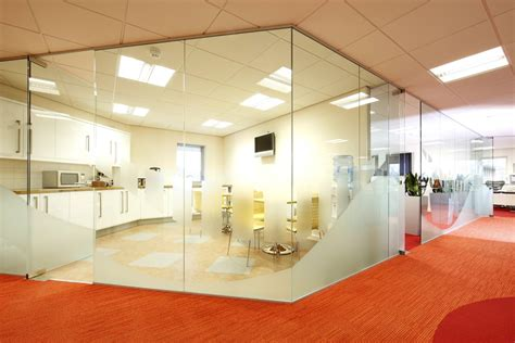 Modern Dining Room Lighting glass office partitions bolton manchester cheshire