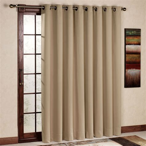 Patio Door Panels Ultimate Blackout Grommet Patio Panel