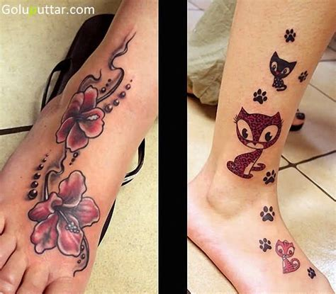 ankle cover up tattoos ankle flower tattoos stock goluputtar