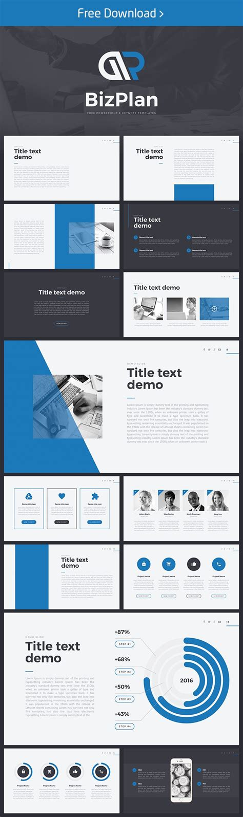 38 Best Free Powerpoint Template Images On Pinterest Powerpoint Website Free