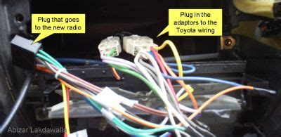 upgrading a car radio (for a toyota corolla): 8 steps