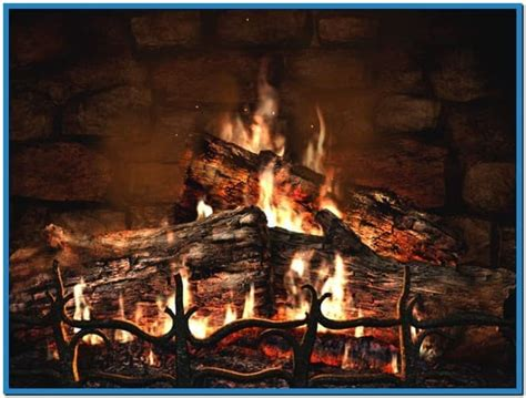 Fireplace 3d Screensaver by Fireplace 3d Screensaver And Animated Wallpaper