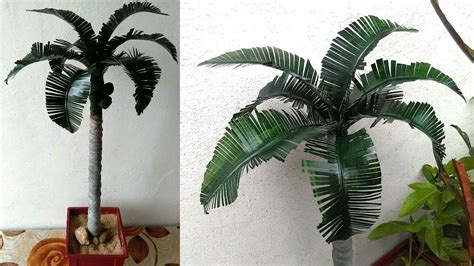 how to make artifical tree diy how to make palm tree