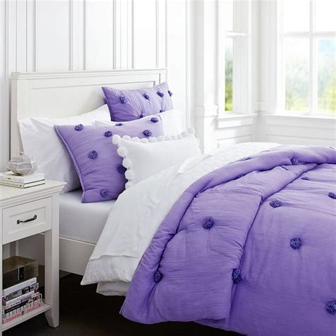 purple kids bedding crinkle puff quilt purple contemporary kids bedding