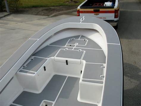 grey layout boat seadek floor kits castaway customs