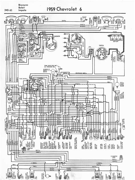 wiring diagrams 59 60 64 88 el camino central forum