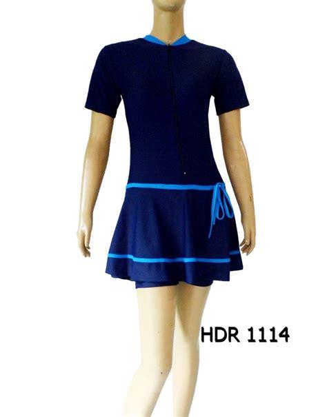 Baju Renang Semi Cover Baju Renang Semi Cover Dewasa Hdr 1114 Distributor Dan