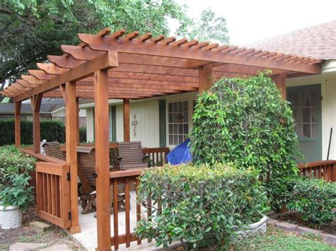 patio pergola design ideas build attached to home easy to