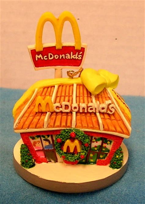 free l121 1996 mcdonalds christmas ornament 1969