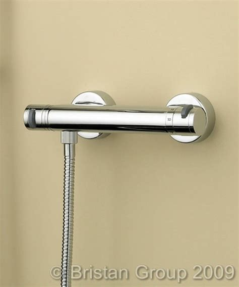 Fitting Thermostatic Shower Valve by Bristan Artisan Thermostatic Bar Shower Valve And Fast Fit