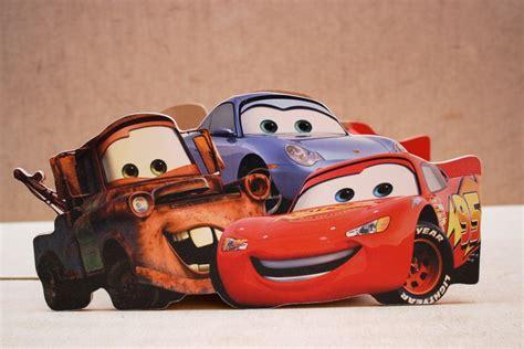 si鑒es auto r馮lementation centro de mesa de personajes de cars para fiestas